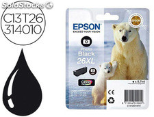 Ink-jet epson 26xl xp-600 / 605 / 700 / 800 negro 700 pag