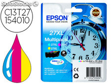 Ink-jet epson 27 xl WF3620 / 7110 / 7610 / 7620 pack multicolor