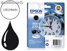 Ink-jet epson 27XL wf 3620 / 3640 / 7110 / 7610 / 7620 negro -1.100 pag-