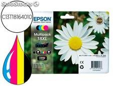 Ink-jet epson multipack t18xl negro amarillo cian y magenta xp-102 xp-205