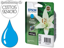 Ink-jet epson stylus photo r2400 t0592 cyan 640 pag