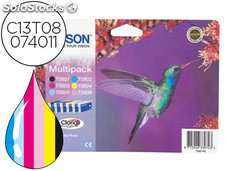 Ink-jet epson t0807 stylus photo r265 / 285 pack multicolor