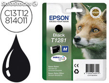 Ink-jet epson t1281 stylus s22 / sx125 negro -170 pag-