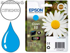 Ink-jet epson t18 cyan expression home xp-102 xp-205 xp-305 xp-405 capacidad