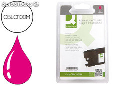 Ink-jet q-connect compatible brother lc-1100M magenta