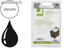 Ink-jet q-connect compatible hp n.21 negro 5 ml dj3920/3940d2360/f380 psc 1410