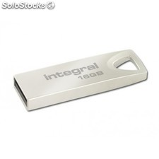 Integral - Arc 16GB 16GB usb 2.0 Tipo a Metálico unidad flash usb