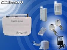 Intelligent wireless gsm burglar alarm system
