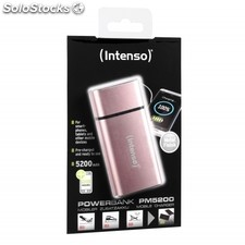 Intenso Powerbank PM5200 Rechargeable Battery 5200mAh (Rosé)