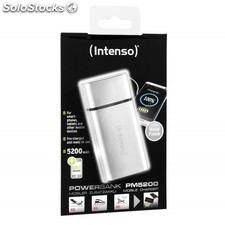 Intenso Powerbank PM5200 Rechargeable Battery 5200mAh (silver)