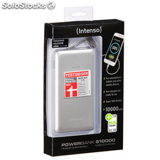 Intenso Powerbank S10000 Rechargeable Battery 10000mAh (silver)
