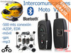 Intercomunicadores Bluetooth para casco. Manos libres, musica,...