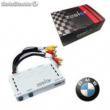 Interface Cámara Parking Bmw Serie 5, 7, X5 Y X6 (2008-2012) - Zesfor