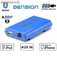 Interface Dension Gateway Lite BT, MP3-USB y Bluetooth para Mazda