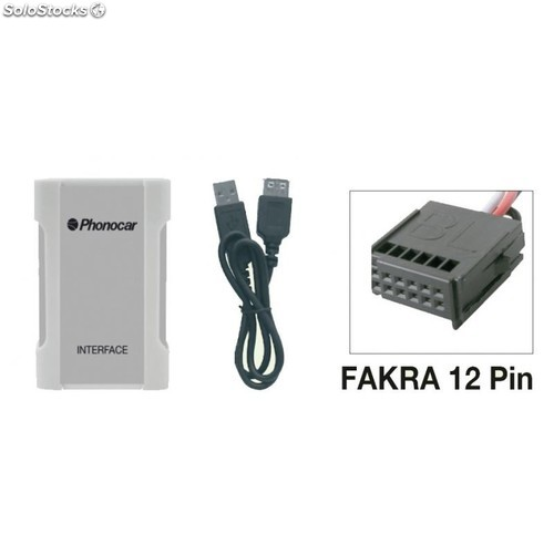 Interface iphone ipod usb sd mp3 para ford
