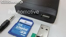 Interface multimedia usb/sd/aux. Audi 12 pines (2004-2012)