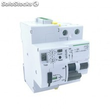 Interruptor diferencial rearmable 2p-63a-30ma-10ka