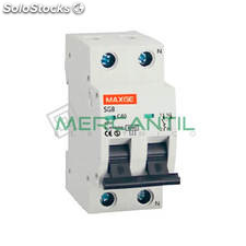 Interruptor Magnetotermico 1P+N 16A Sgbe6K Residencial Retelec