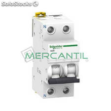 Interruptor Magnetotermico 1P+N 50A iC60N Sector Terciario Schneider