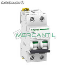 Interruptor Magnetotermico 2P 16A iC60H Sector Industrial Schneider