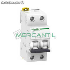 Interruptor Magnetotermico 2P 6A iK60N Sector Residencial Schneider