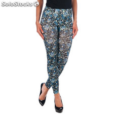 Intimax leggins flores grey