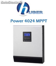 Inversor Cargador Huber Power 4024 con Regulador MPPT