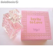 Invite to love de roland v inspirado en rock´n rose de valentino