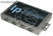 Ip Server RS485 RS232 RS422 4-Port Topview (RS73)