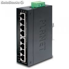 IP30 Slim type 8-Port Industrial Gigabit Ethernet Switch (-40 to 75 degree C)
