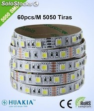 Ip33 Tiras led Verde 300 piez