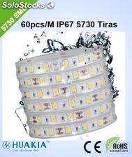Ip67 Tiras led Verde 300 pieza 5730smd led/Rollo led Strip