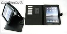 Ipad Case. Black Cowhide Nappa Leather