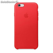 Iphone 6S leather case rojo