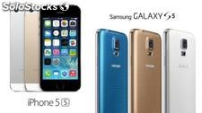 iPhone Apple 5s Samsung Galaxy s5