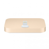 Iphone lightning dock gold -