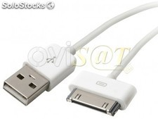 Ipod cable de datos/cargador USB, compatible con iPhone 2G, iPhone 3G, iPhone