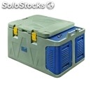 Isothermal container with top hinged lid - mod. koala 160 - plugs into car