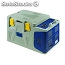 Isothermal container with top hinged lid - mod. koala 50 - plugs into car