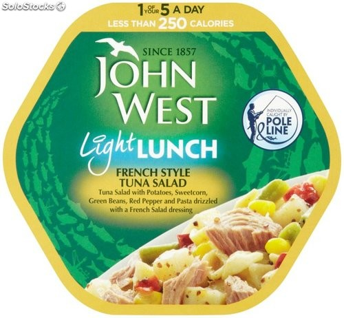 J west j west tuna l almuerzo franc s for Almuerzo en frances