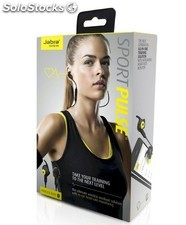 Jabra Sport Pulse Wireless, auriculares Bluetooth con pulsómetro