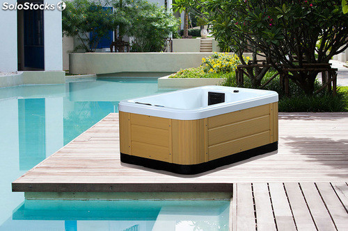 Jacuzzi spa 3 personas incluye electronica balboa for Jacuzzi exterior para dos personas