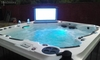 Jacuzzi,Spa,Exterior Incluye tv 32