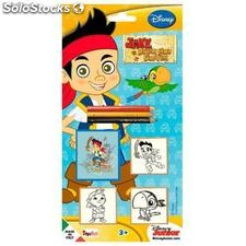 Jake the Pirate Blister mit 3 Stempel
