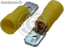 Jaune Terminal Faston Homme (6.3mm) 100 Pack (FN27-0002)