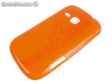 Jelly para cobrir caso Samsung Gaaxy Mini 2 S6500 laranja
