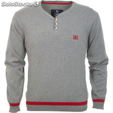 Jersey norway tif light grey melange - light grey melange - the indian face -