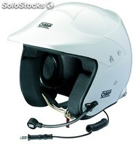 Jet 10 intercom MY2013 casco omp blanco talla s