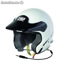 Jet 7S intercom casco omp blanco talla m