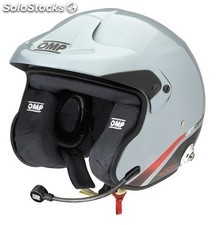Jet carbon 8860 t casco omp light grey talla s